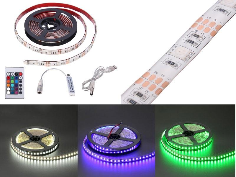 Особенности устройства светодиодной ленты.