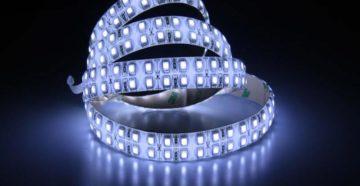 использование светодиодного освещения