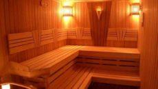 Электропроводка в сауне или бане
