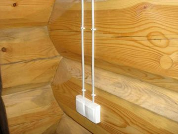 наружная проводка кабеля