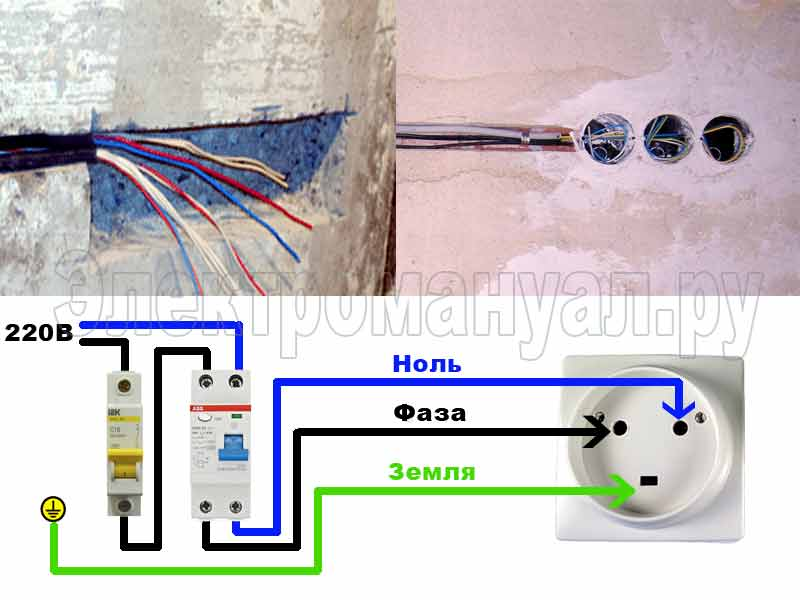 Как подключить розетку для электроплиты
